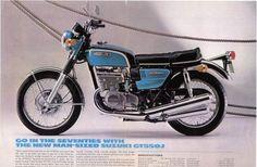 GT 550J, 1970-1971