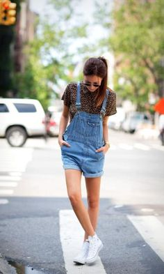 Look Jeans + Animal Print + All Star