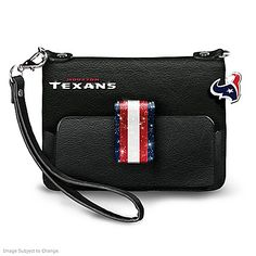 Shop The Bradford Exchange Online for H-Town Chic Mini Handbag. Home to the NASA Johnson Space Center, the famous San Jacinto Monument and much more, Houston has much to proudly call its own - including the legendary Houston Texans! Now a purse that's. Dallas Cowboys Purse, Patriots Team, Nfl Stadiums, How Bout Them Cowboys, Mini Handbags, Black Handbags, Houston Texans, Washington Redskins, Chicago Bears