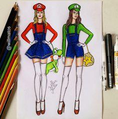 Mario, Luigi Girl