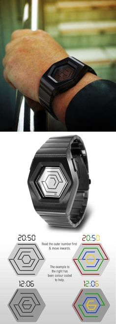 The innovative Kisai Spider watch uses Transparent LCD to create the illusion that time is floating on your wrist. Four numbers, arranged from large to small, display the digital time in an original and intuitive way. http://www.tokyoflash.com/en/watches/kisai/spider/  #ICONMEDIATECH #KisaiSpider #Watches