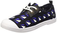 Le Temps des Cerises  Ltc Basic 02,  Damen Sneaker , Blau - Blau - Bleu (Fancy Graphic) - Größe: 38 - http://on-line-kaufen.de/le-temps-des-cerises/38-eu-le-temps-des-cerises-ltc-basic-02-damen-11