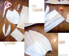 Making the Flowers 1 pair of scissor 6-8 brown paper bags 1 glue stick leaf template if needed…….   1. With bottom flap towards you cut off the bottom of the bag right above the fold. Save the ...