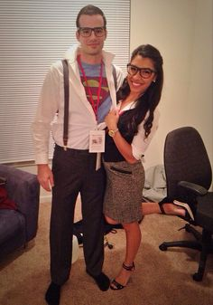 Couples Costume. Superman and Lois Lane :) http://videosdeterror.com.mx