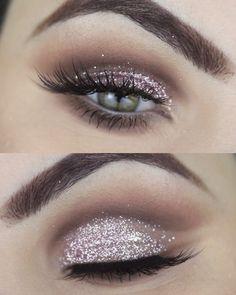 Glitter Makeup Tutorial https://www.youtube.com/watch?v=2znxTUoRf50&t=2s