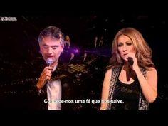 Celine Dion & Andrea Bocelli - The Prayer - Legendado em portugues