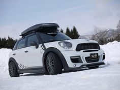 "Superturismo LM 17"" on Mini Cooper Countryman All4 by Duell AG from Japan #OZRACING #RACING #SUPERTURISMO #RIM #WHEEL"