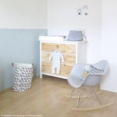 Commode underlayment zelfmaken babykamer