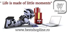 "Best Shop Line - ""Life is made of a litlle moments"" bit.ly/1M9hdQe"
