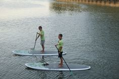 Paddleboarding on Hilton Head Island, #SUP, great calorie burner!