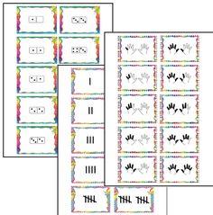 GETALBEELDEN FLITSEN   Ik heb een aantal powerpoints gemaakt, waarmee je klassikaal verschillende getalbeelden kunt flitsen. Heel handig aan het eind van groep 2, of begin van groep 3.   De getalbeelden waar het om gaat, zijn opgestoken vingers, turven tot tien en  dominostenen tot tien. Het geautomatiseerd hebben van deze getalbeelden is essentieel voor een goede start van het rekenonderwijs in groep 3. Deze presentaties kunnen daar wellicht bij helpen.
