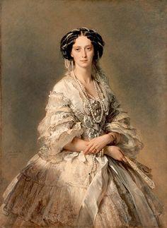 Portrait Of Empress Maria Alexandrovna  Franz Xaver Winterhalter