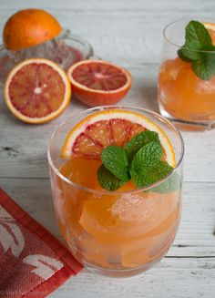 Blood orange jelly
