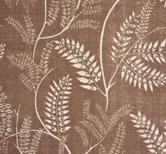 Chiara in Coco from Lisa Fine Textiles #fabric #linen #brown