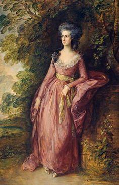 The Athenaeum - Mrs Hamilton Nisbet (Thomas Gainsborough - ) 1788
