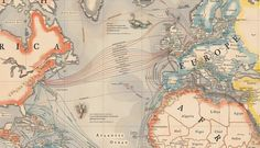Do you know how the internet gets across the ocean? This amazing map shows every cable that makes it possible.