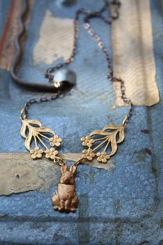Watership Down Necklace 02 by Christine Domanic, via Flickr