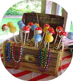 pirate cake pop treasure chest