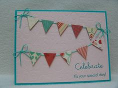 F4A132 Birthday Banners by suen - Cards and Paper Crafts at Splitcoaststampers