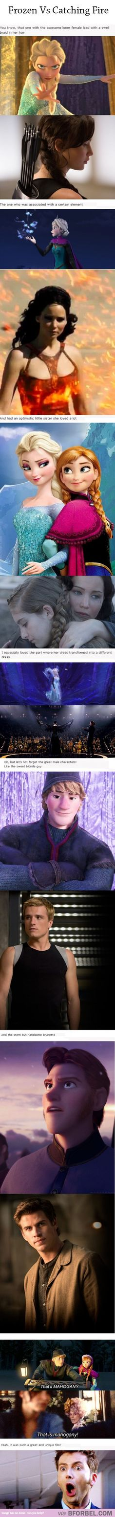 "6 Things ""Frozen"" And ""Catching Fire"" Have In Common…"
