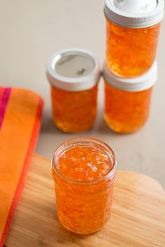 Here is a collection of jelly and jam recipes that highlight chili peppers of all types, including ghost pepper jelly, habanero jelly, jalapeno jelly and jam and more. Habanero Recipes, Jam Recipes, Canning Recipes, Chili Recipes, Tuna Recipes, Pepper Jelly Recipes, Hot Pepper Jelly, Chutneys, Habanero Jelly