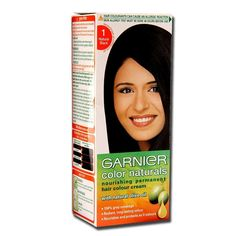 Garnier Natural Black Hair Color - Best Color to Dye Gray Hair Check more at http://frenzyhairstudio.com/garnier-natural-black-hair-color/