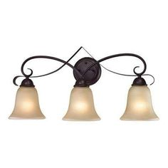from The Home Depot · Brighton 3-Light Oil-Rubbed Bronze Wall Mount Bath  Bar Light