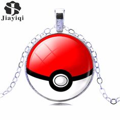 Pokemon Ball Pendant Necklace #pokeball #pokemon #necklace #pendant
