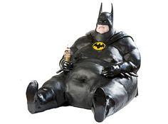 Batman's human side.