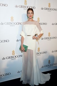 Ana Beatriz Barros deGrisogono party Cannes 2013...Absolutely stunning!