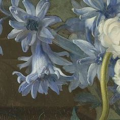 Still Life with Flowers, Jan van Huysum, 1723 - Search - Rijksmuseum Lotus Flower Ring, Flower Art, Botanical Art, Botanical Illustration, Dutch Still Life, Cross Stitch Flowers, Aesthetic Art, Art World, Blue Flowers
