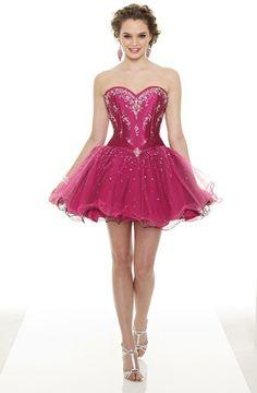 minihems.com short-pink-prom-dresses-07 #shortdresses