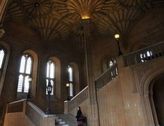 Hogwarts Hall entry from Christ Church College - Oxford, England