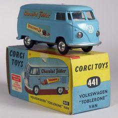 Corgi Toys 441 VW Toblerone Van