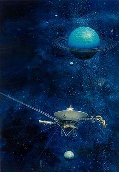 kosmologi: Viking Probe by John Berkey