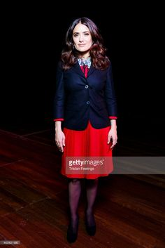 Salma Hayek Pinault presents an exclusive screening of her animated feature film 'The Prophet' at Southbank Centre's WOW Women of the World festival marking International Womens Day at Southbank Centre on March 8, 2015 in London, England.