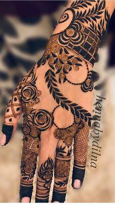 Khafif Mehndi Design, Rose Mehndi Designs, Basic Mehndi Designs, Back Hand Mehndi Designs, Latest Bridal Mehndi Designs, Stylish Mehndi Designs, Mehndi Designs 2018, Henna Art Designs, Mehndi Designs For Girls