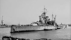 HMS Valiant (1914) Queen Elizabeth-class battleship built for the British Royal Navy during the early 1910's. (google.image) 6.17