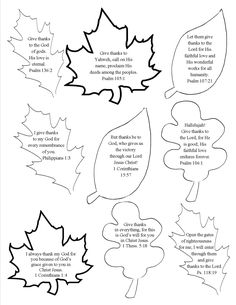 printable scripture leaf template from a thanksgiving tree