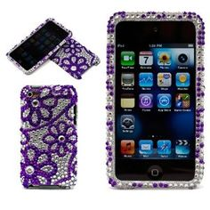 If you're a lucky puppy and have this phone, an all-over flower makeover would be just the bling. D:)