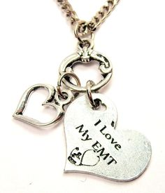 Paramedic Pictures Free   love my EMT necklace Free fast Shipping by CorsoStudio on Etsy