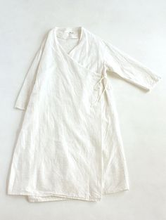 earth dye robe: Would be cute as a craft/garden cover-up robe over regular clothes...