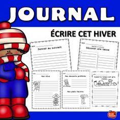 Écriture: Journal de l'hiver