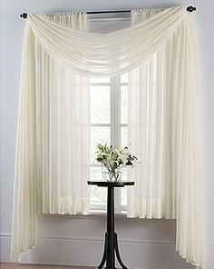 Shop for smartsheer energy saving window valance at Bed Bath & Beyond. Buy top selling products like Smart Sheer™ Insulated Crushed Voile Sheer Window Curtain Panel and Valance and Smart Sheer™ Insulating Voile Window Curtain Panel. Home Curtains, Window Drapes, Window Panels, Window Coverings, Panel Curtains, Window Treatments, Curtain Panels, Panel Bed, Balcony Window
