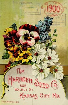 The Harnden Seed Company's annual catalogue for 1900