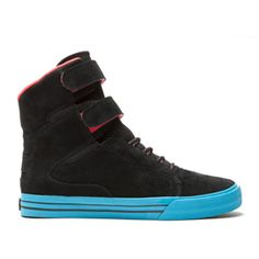 SOCIETY BLACK - BLUE Baskets For Men, Supra Shoes, All About Shoes, Sock Shoes, Shoes Online, Girls Shoes, High Tops, High Top Sneakers, Kicks
