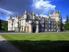 Castelo de Balmoral, na Escócia.