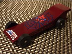 Pine Wood Derby Car