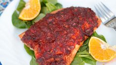 Baked Trout with Adobo Guajillo Chili, Baked Trout, American Drinks, How To Cook Fish, Love Eat, Cooking Light, Tray Bakes, Seafood, Dessert Recipes