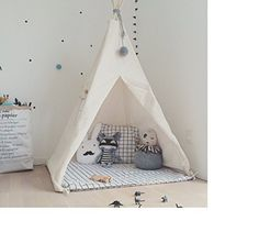 LoveTree Portable Kids Cotton Canvas Teepee Indina Play T... https://smile.amazon.com/dp/B00XBMIFOM/ref=cm_sw_r_pi_dp_x_.3LDybRMZMF73